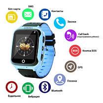 Smart годинник дитячий з GPS Q528 + камера Blue, фото 2