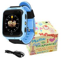 Smart годинник дитячий з GPS Q528 + камера Blue, фото 3