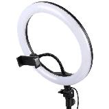 Кільцева світлодіодна LED Лампа26см RING зі Штативом для Селфи 2м Ring Fill Light, фото 9