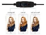 Селфи световое кольцо Selfie Ring Fill Light Кольцевая лампа ZD666 10 Вт D=26 см 5500K - 3200К, фото 6