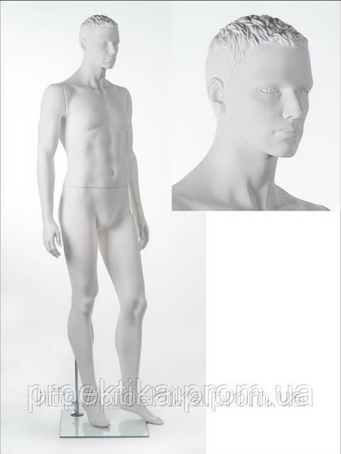 Манекен мужской GREG position C (AHF 11PC) (белый)