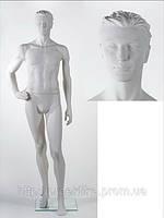 Манекен мужской STEVEN position E (AHF 02PC) (белый)