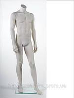Манекен мужской без головы VM-BG19 RAL 9001