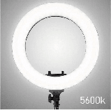 Кільцева лампа Світлодіодна LED Світло на Штативі Soft Ring Light HQ-18 для блогерів D 45 см з Штативом, фото 2