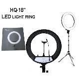 Кільцева лампа Світлодіодна LED Світло на Штативі 200 см Soft Ring Light HQ-18 для блогерів D 45 см з Штативом, фото 6
