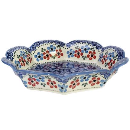 Фруктовница / конфетница, керамическое блюдо 26,5 Bloom, фото 2