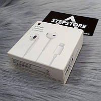 РАСПРОДАЖА Наушники стерео Apple Earpods Original Lightning Оригинал Еирподс Аирподс проводные оригинал