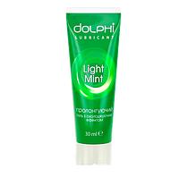 Пролонгирующая гель-смазка DOLPHI Light Mint, 30 мл