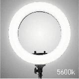 Кільцева лампа Світлодіодна LED Світло Soft Ring Light HQ-18 45см для блогерів візажистів БЕЗ ШТАТИВА, фото 2
