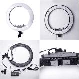 Кільцева лампа Світлодіодна LED Світло Soft Ring Light HQ-18 45см для блогерів візажистів БЕЗ ШТАТИВА, фото 4