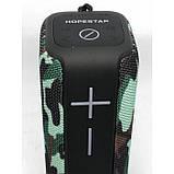 Портативная беспроводная стерео колонка Hopestar P15 c Bluetooth, USB и MicroSD Камуфляж, фото 5