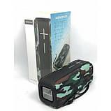 Портативная беспроводная стерео колонка Hopestar P15 c Bluetooth, USB и MicroSD Камуфляж, фото 8