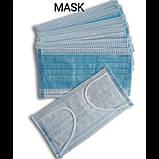 Медицинские маски 3 х слойные, фото 4
