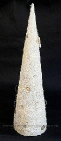 Декоративная елка в форме конуса, 80см
