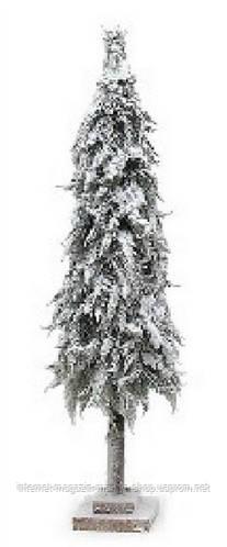 Декоративная ель в снегу 75см на подставке