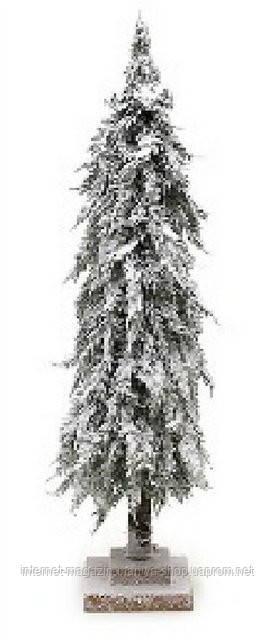 Декоративная ель в снегу 60см на подставке