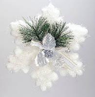 Новогоднее украшение Снежинка, 20см