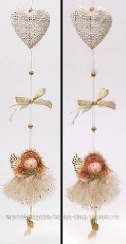 Елочное украшение Ангел, 47см
