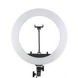 Кільцева лампа Світлодіодна LED Світло на Штативі Soft Ring Light HQ-18 для блогерів D 45 см з Штативом, фото 8