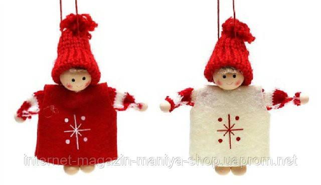 Набор войлочных украшений куколки (2) в асс 2