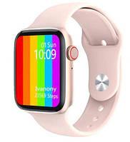 Смарт-часы IWO W26/W34 как Apple Watch Series 6 1:1 Smart Bracelet Black Розовые