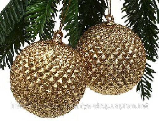 Набор елочных шаров (2), 7см
