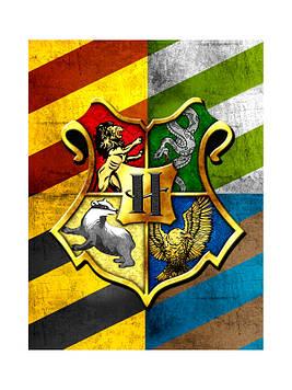 """""""Гарри Поттер"""" - Наклейка Сок 6,5*8,5 см."""