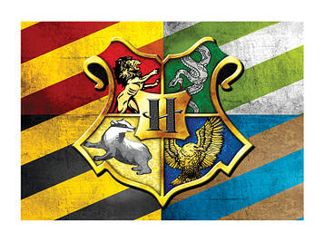 """""""Гарри Поттер"""" - Наклейка Шоколадку 14,5*10,5 см."""