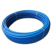 Труба полиэтиленовая Акведук синяя питьевая ПЭ80 D25*2,3 PN10