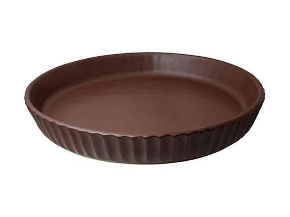 Форма для випічки кругла 26см теракотовий ТМ ПОЛИГЕНЬКО, фото 2