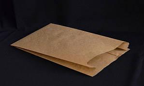 Пакет для хачапури 23х20х4 см. (средний) 40 г/м2 бумажный, бурый крафт 1000 шт/уп