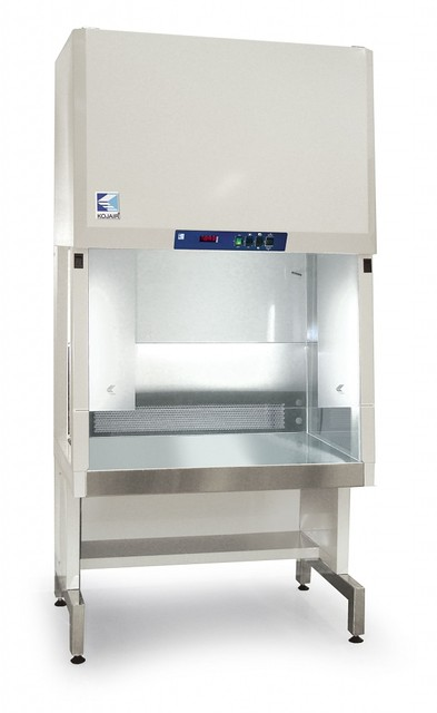 Открытые ламинарно-потоковые шкафы KV с вертикальным потоком воздуха