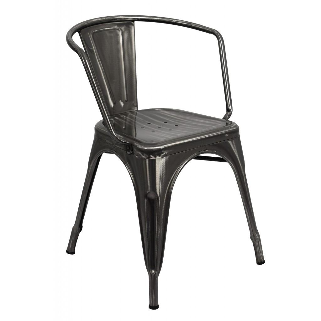 Кресло металлическое Bonro B-101G