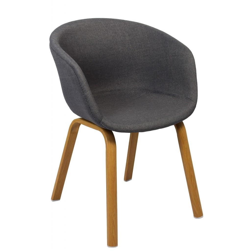 Крісло Bonro B-496 FB сіре