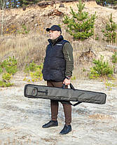 Жёсткий чехол для удилищ 150 см Fisher, фото 2