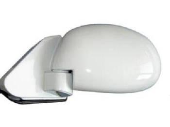 Дзеркало автомобільне бічне ВАЗ 01-07 білий глянець ( форма краплі модель 3Б на шарнірі ) 2шт