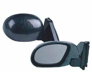 Автомобільні дзеркала бокові ВАЗ 01-07 Карбон ( форма краплі модель ЗБ 3252B на шарнірі ) 2шт