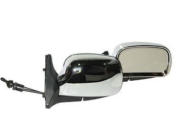 Автомобільні дзеркала бокові ВАЗ 01-07 Хром ( модель ЗБ 3107 складаються ) 2шт