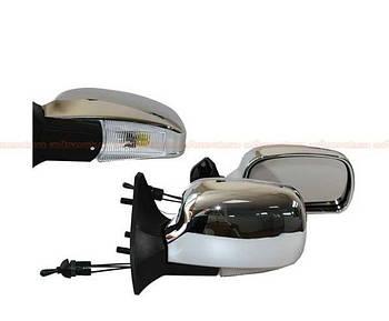 Автомобільні дзеркала бокові ВАЗ 01-07 Хром ( з поворотом ЗБ 3107A складаються ) ЗАВОД 2шт
