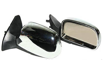 Автомобільні дзеркала бокові ВАЗ 01-07 Хром ( Віддаляють, відображає, складаються ) 2шт