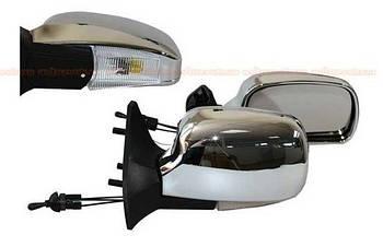 Автомобільні дзеркала бокові ВАЗ 01-07 Хром ( з LED поворотом ЗБ 3109П складаються ) 2шт
