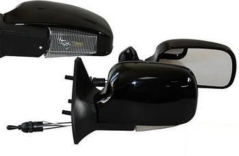 Автомобільні дзеркала бокові ВАЗ 01-07 чорний глянець ( з поворотом LED ЗБ 3109П складаються ) 2шт