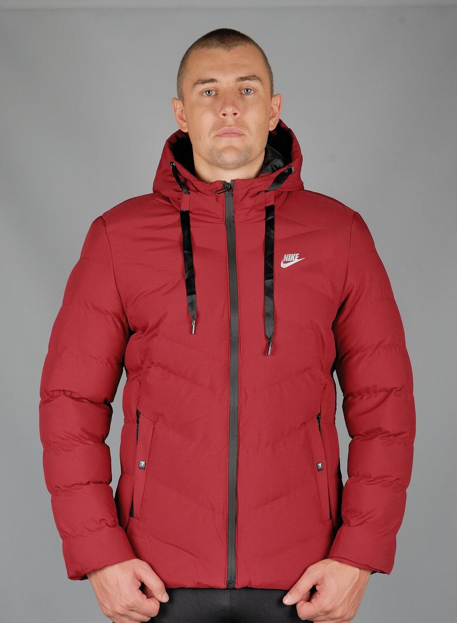 Зимняя спортивная куртка Nike (Nike-zzz-8016-1)