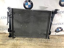 Радиатор охлаждения Hyundai Sonata YH 2.4 2013 (б/у)