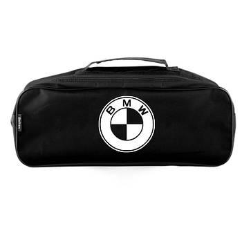 """Сумка тех.помощи BMW черная  (52,6х18,6х13,2)  2 отдела """"Beltex"""" (липучки для фиксации)"""