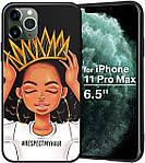 """Чехол силиконовый XIX для iPhone 12 Pro (6.1""""), Queen Girls"""