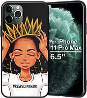 """Чехол силиконовый XIX для iPhone 12 Pro (6.1""""), Queen Girls, фото 1"""