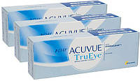 Контактные линзы Johnson&Johnson 1-DAY ACUVUE Tru Eye TRIO (BC=9.0, DIA=14.2) 90 линз