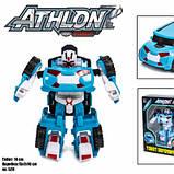 Детская игровая фигурка робота-трансформера из серии Тобот Атлон 528, Голубая машинка, фото 2