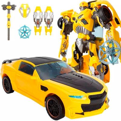 Игрушка-трансформер Deformation Tycoon (желтая)